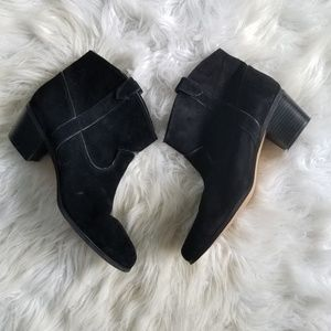 Vince Camuto Leather Booties